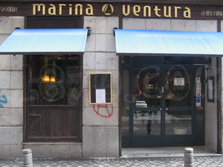 GASTRONOMÍA MADRILEÑA 7: MARINA VENTURA