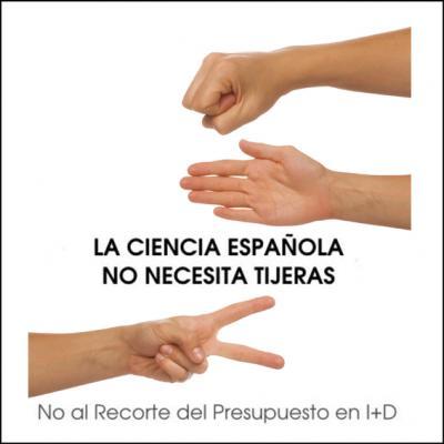 LA CIENCIA EN ESPAÑA NO NECESITA TIJERAS...